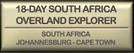Drifters 18 Day Overland South Africa Overland Explorer
