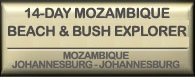 Drifters 14 day Mozambique Transfrontier Explorer