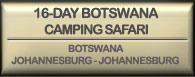 Drifters 16 day Botswana Camping Safari